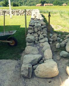07`13 Stenmur, sten staket, gärdsgårdsmur / Dry Stone Wall, Stone fence