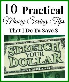 I'm always looking for ideas that will help me save money. I thought I'd share 10 things that I do that saves my family money. Here are 10 Money Saving Tips to Help You Stretch a Dollar 1. Enjoy being at home & Stay home! You don't have to go somewhere to have a good time.  Make staying home something you and your family enjoy doing. For example, have a movie night with the kids and/or a date night with your husband at home. We have movie night every Friday night. We rent a DVD from…