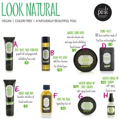 Looking natural is a must! Look at all these fantastic product Perfectly Posh has to help your skin feel and looks its best!