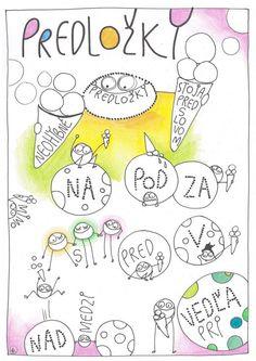 Náučné omaľovánky 4 - Zavretá škola - ako učiť doma Games For Kids, Diy And Crafts, Bullet Journal, Notes, Education, School, Speech Language Therapy, Games For Children, Report Cards