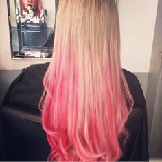 When you live, think, and DYE pink. Colorful Hair, Hair Ideas, Hair Color, Hairstyle, Wedding Ideas, Long Hair Styles, Live, Beauty, Hair Job
