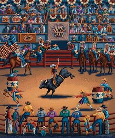 Rodeo Days by Eric Dowdle