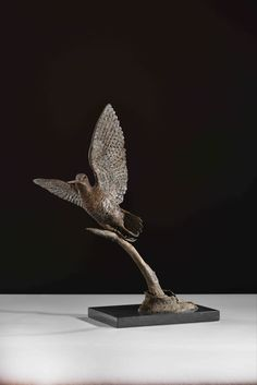 Bronze, signed, dated & numbered Bird Sculpture, Bronze Sculpture, Sculptures, Flight Patterns, Game Birds, Habitats, Gifts, Beautiful, Presents