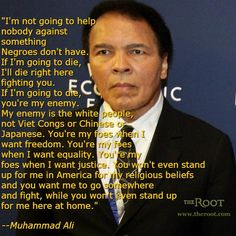 Best Black History Quotes: Muhammad Ali on Racism in America