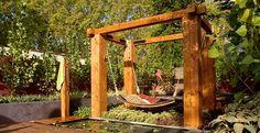 Rustic Gardens Designs Idea | Diningroom Garden by Jamie Durie1 Romantic Garden Rearrangement for ...