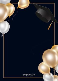 Black Simple Style Graduation Hat Background Latar Belakang Wisuda Topi Hitam Gaya Sederhana<br> More than 3 million PNG and graphics resource at Pngtree. Find the best inspiration you need for your project. Graduation Album, Graduation Images, Graduation Templates, Graduation Party Decor, Graduation Invitations, Balloon Background, Creative Background, Birthday Background, Balloon Frame