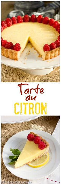 Tarte au Citron | An exquisite lemon dessert @lizzydo