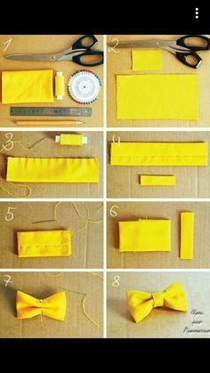 CasualCrafter - Page 2 of 3 - Easy DIY Crafts ideas, creative Do It Yourself Ideas. Make A Bow Tie, How To Make Bows, Diy Baby Headbands, Diy Hair Bows, Headband Baby, Dog Bows, Baby Bows, Diy Ribbon, Ribbon Bows
