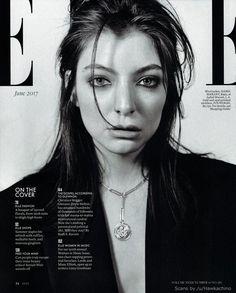 Lorde in ELLE - June 2017