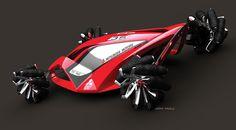 Mitsubishi future concept race vehicle