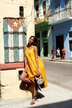 Cindy Bruna by Alexander Neumann for Madame Figaro France July 2015 #Cuba
