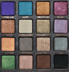 Urban Decay Alice in Wonderland Eyeshadow Palette Review, Photos, Swatches