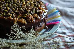 A healthy, beautiful and delicious alternative to greedy birthday cake. Can be made vegan and it has chocolate in it too!