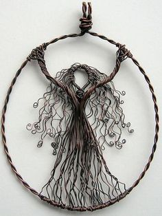 OF MICE AND raMEN: Louise Goodchild - Wire Wrapped Pendants