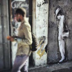 Artist : Faith47. Place : Woodstock, Cape Town. #streeart, #graffiti, #urban.