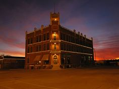 Beautiful picture of the State Capital Publishing Museum, Guthrie, OK.