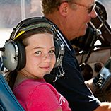 Young Eagles flight training program for kids aged 8-17yrs. Find a volunteer near you and get your kids into the pilot seat!