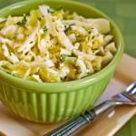 Recipe for Greek Cabbage Salad with Feta and Thyme