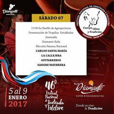 Festival de Folklore Diamante 2017 SAB 7 - ErMusicTV® Canal de Música / Noticias / Discos de Entre Ríos® / ERD Music®
