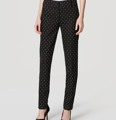 """A forever essential, our skinny ankle pants are mid-rise and slim throughout with a narrow leg and slight crop. Your perfect fit if your hips are proportionate to your waist. Zip fly with hook and bar closure. Belt loops. Front slash pockets. Back welt pockets. 28"""" inseam."""