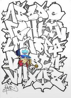 Graffite alfabeto!