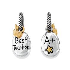 Brighton Teacher charm