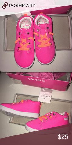 Carters sneakers NWT toddler size 8 Carters sneakers NWT toddler size 8 Carter's Shoes Sneakers