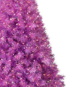 Treetopia - Purple Groove Artificial Christmas Tree #PurpleChristmas