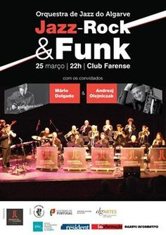 Jazz, rock and funk are in the mix at Club Farense on 25th March. http://www.mydestination.com/algarve/events/73683885/orquestra-de-jazz-do-algarve-at-club-farense-25-march-2016