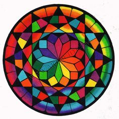 Mandala Drawing, Mandala Painting, Mandala Art, Stone Painting, Flower Mandala, Arte Linear, Sacred Geometry Art, Geometry Tattoo, Arte Fashion