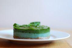 Raw Matcha Mint Layer Cake