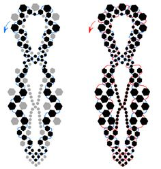 huge pattern for large choker free someday I will print this Jewelry Making Tutorials, Beading Tutorials, Beaded Jewelry Patterns, Beading Patterns, Fabric Beads, Diy Necklace, Necklaces, Bead Art, Beaded Earrings