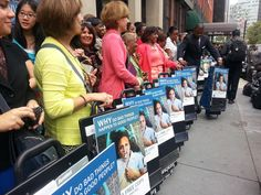 New York - Special witnessing campaign, 52 locations manned with 64 literature carts in World Trade Center.