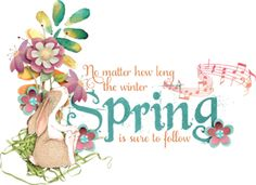 Spring-a-Ling by SnickerdoodleDesigns - One of the many good things about spring is that without it, without the absence of colorful flowers, chirping birds, gentle breezes, and rolling hills of green, we might fail to appreciate the beauty around …