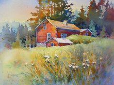 Watercolor by Rose Edin