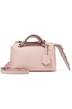 Fendi   By The Way mini appliquéd leather shoulder bag   NET-A-PORTER.COM
