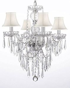 Magnificent Chandelier Online Shopping shop for swarovski crystal trimmed french empire chandelier lighting with 20 lights get free shipping at your online home decor outlet store Shop For New Authentic All Crystal Chandelier Lighting With Crystal Icicles Black Shades Get Free Shipping At Your Online Home Decor Outlet Store