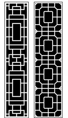 Dercor panel 62 – Download Free Vector Stair Railing Kits, Art File, Vector File, Free Design, Cnc, Woodworking, Pattern, Patterns, Carpentry