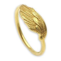 NOVICA Gold Plated Eagle Wing Ring Bali Artisan Jewelry ($68) ❤ liked on Polyvore featuring jewelry, rings, band, gold plated, wing jewelry, novica jewelry, gold plated jewellery, band rings and novica