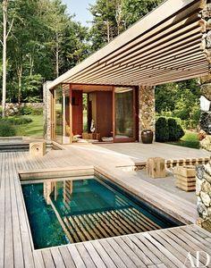 The hot tub | archdigest.com
