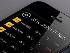 Flight App UI  by Daniel Balazs