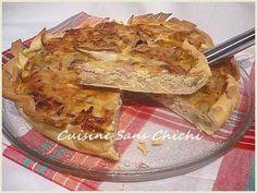 Tarte aux endives et jambon, Recette par Cuisinesanschichi - Ptitchef