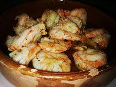 Gambas Al Ajillo. Recetas, recipes, food...
