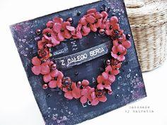 Odskocznia vairatki: Z całego serca Valentines Day, Frame, Valentine's Day Diy, Picture Frame, Frames, Valentine Words, Valentines, Valentine's Day