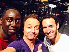 Larnell, Marcelo & fan