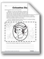 Columbus Day. Download it at Examville.com - The Education Marketplace. #scholastic #kidsbooks @Karen Echols #teachers #teaching #elementaryschools #teachercreated #ebooks #books #education #classrooms #commoncore #examville