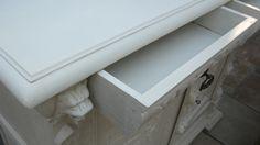 Meubelen in de kalkwas/ meubles cérusés   La Belle Idee