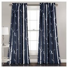 Allow this charming and whimsical piece to ease your mind and also inspire it. The lively colors of the birds are deceiving as this curtain also provides room darkening proficiency which allows you to enjoy the artwork without interruption.