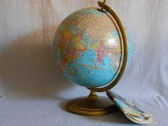 Cram World Globe Original Instructional Book by StoreFourandMore