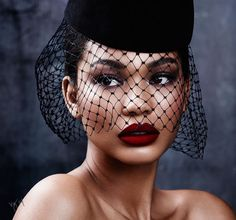 CHANEL IMAN: The model channels three iconic beauties from yesteryear | #VioletGrey, The Industry's Beauty Edit